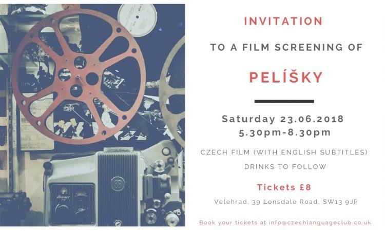 Velehrad Invitation Film Screening Of Pelisky Sat 23 6 18